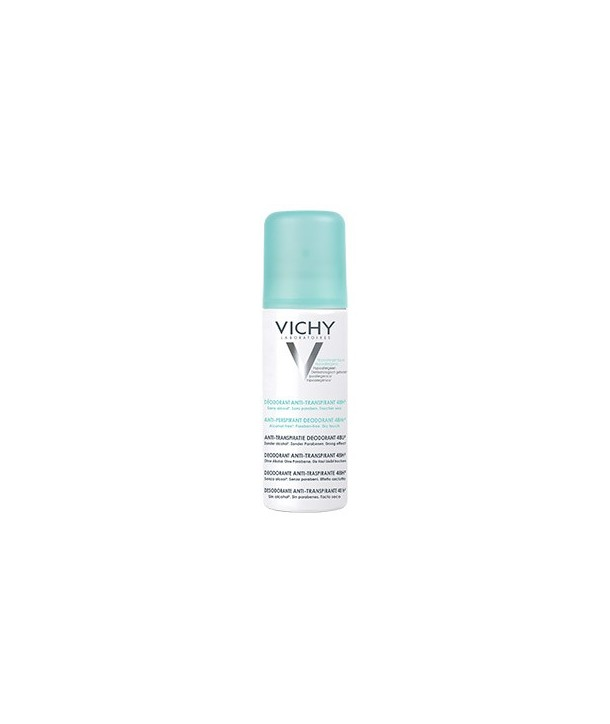 VICHY DEODORANT ANTI-TRANSPIRANT AEROSOL SPRAY 125ml