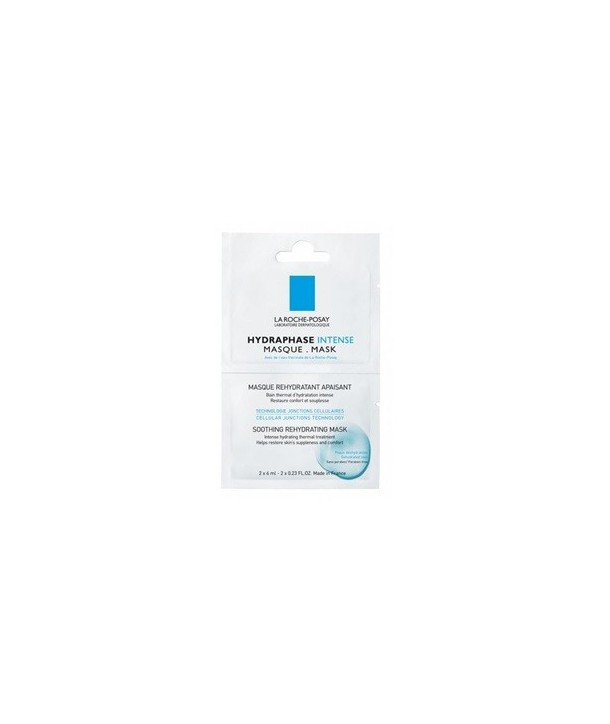 LA ROCHE POSAY HYDRAPHASE INTENSE MASQUE SACHETS BOX 24x2x6ml