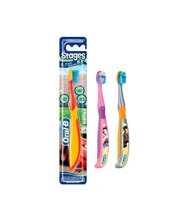 ORAL-B STAGES 3 TOOTHBRUSH (5-7 YEARS)