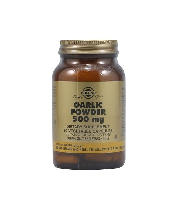 SOLGAR GARLIC POWDER 500mg 90 CAPS