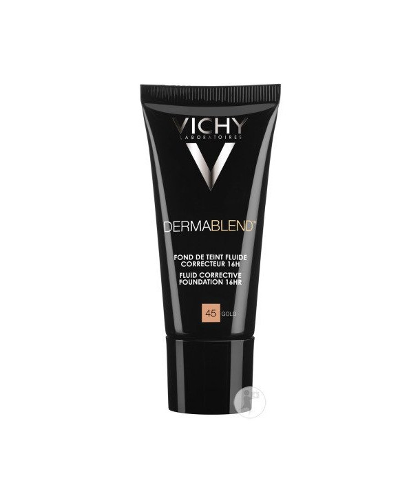 VICHY DERMABLEND CORRECTIVE FOUNDATION 45 GOLD