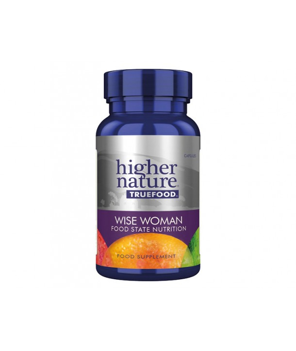 HIGHER NATURE TRUE FOOD WISE WOMAN 90 CAPS