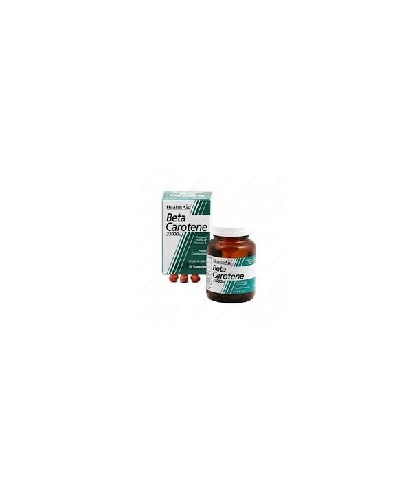 HEALTH AID BETA CAROTENE 23000iu 15mg 30 CAPS