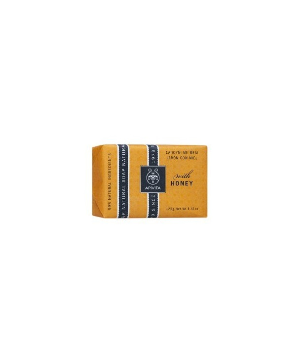 APIVITA NATURAL SOAP HONEY 100gr