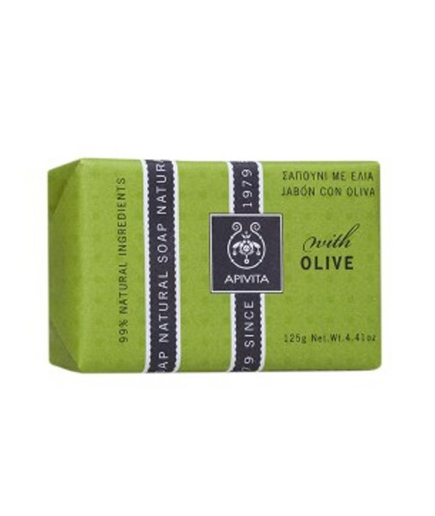 APIVITA NATURAL SOAP OLIVE 125gr