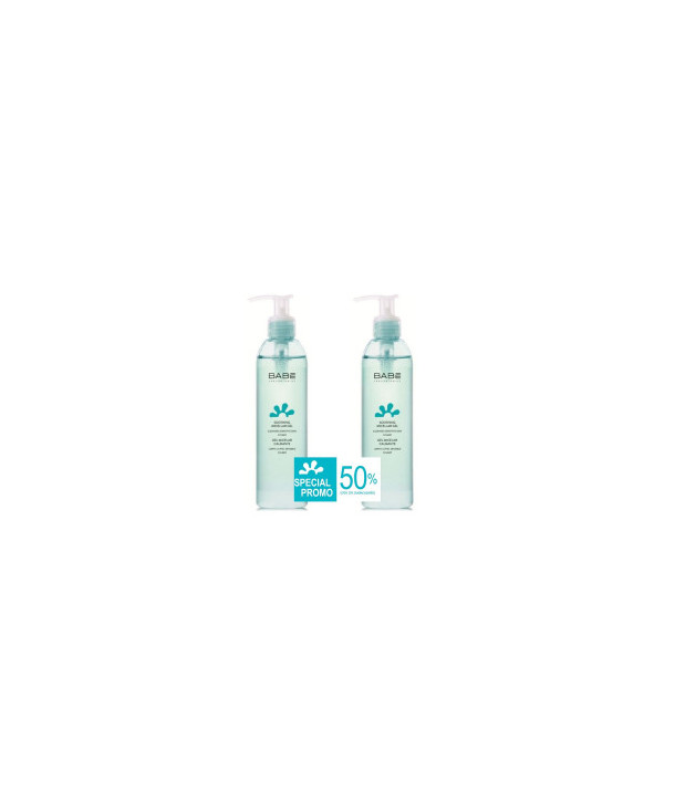 BABE PROMO SOOTHING MICELLAR GEL 2x245ml (-50% στο 2ο ΠΡΟΙΟΝ)