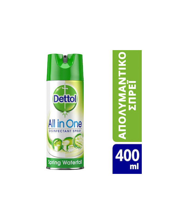 DETTOL SPRAY ALL IN ONE SPRING WATERFALL 400ml