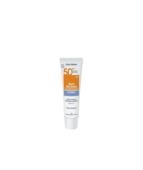 FREZYDERM SUN SCREEN LIP BALM SPF50+ 15ml