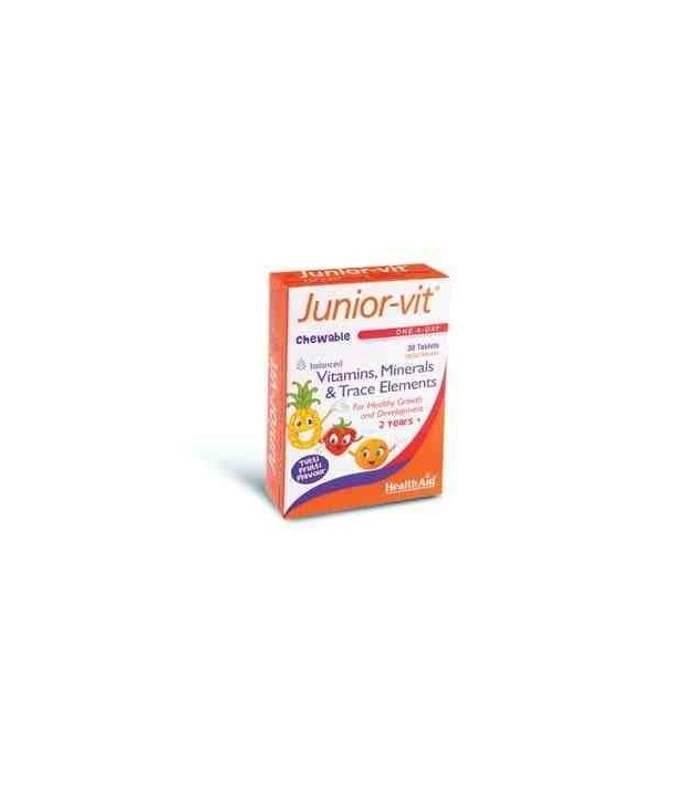 HEALTH AID JUNIOR VIT 30 TABS