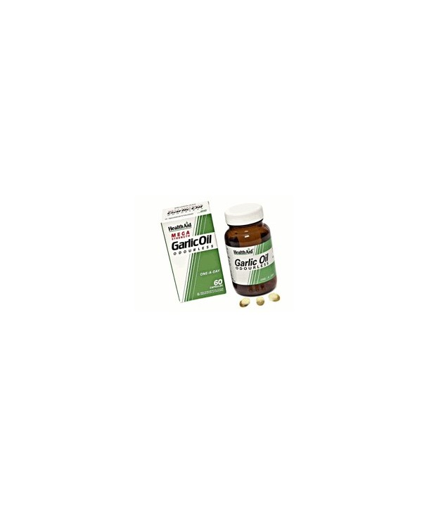 HEALTH AID GARLIC OIL 2mg 30 VECAPS