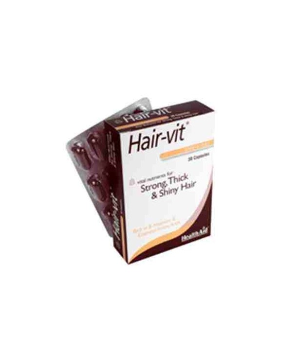 HEALTH AID HAIRVIT 30 CAPS