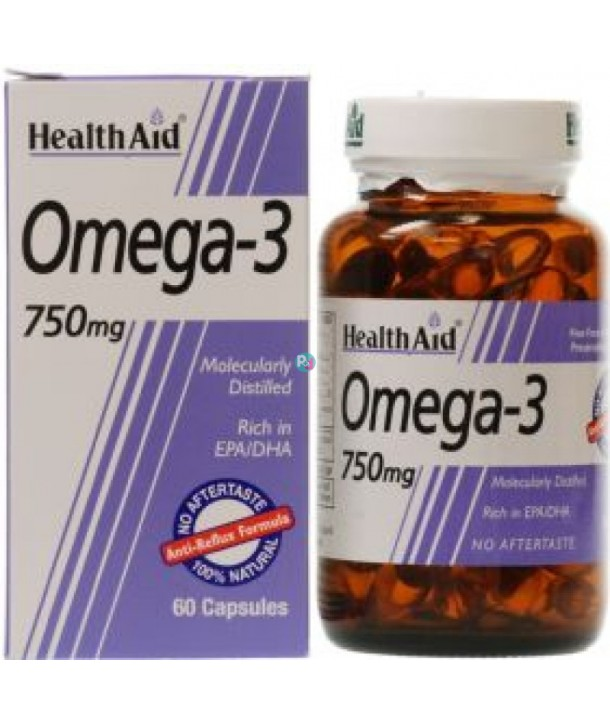 HEALTH AID OMEGA 3 750mg 60 CAPS
