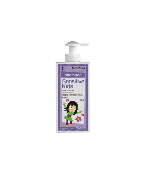 FREZYDERM SENSITIVE KIDS SHAMPOO GIRL 200ml
