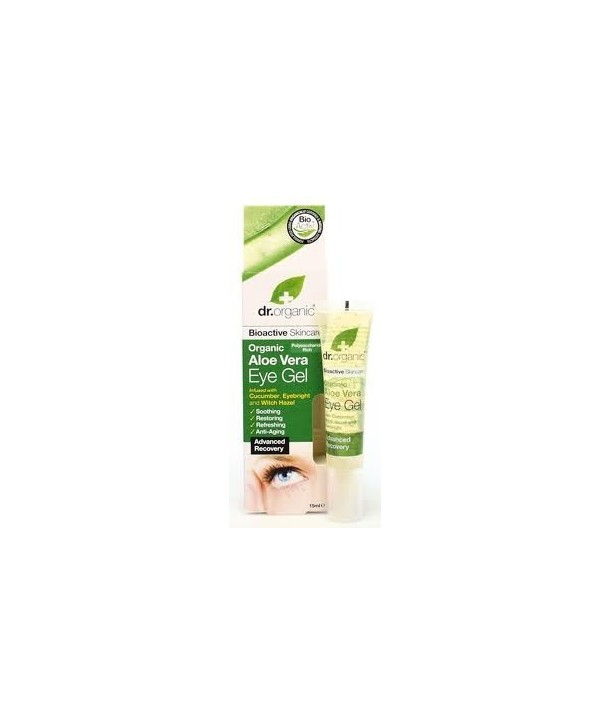 DR.ORGANIC ALOE VERA EYE GEL 15 ml